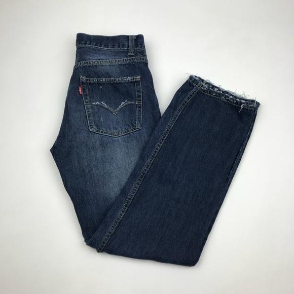 Levi's Denim - Vintage LEVI'S 550 Custom Jeans 28 x 29 Redone